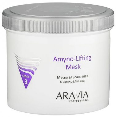 Изображение Маска альгинатная с аргирелином (ARAVIA Professional Amino-Lifting Mask) - 550 мл