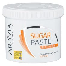 Паста для шугаринга в банке «Натуральная» (ARAVIA Professional Sugar Paste Natural Bank) – 750 грамм