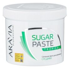 Паста для шугаринга средней консистенции «Тропическая» (ARAVIA Professional Tropical Middle Paste) – 750 грамм