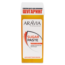 "Паста для шугаринга в картридже ""Натуральная"" (ARAVIA Professional Sugar Paste Natural Cartridge) – 150 г"