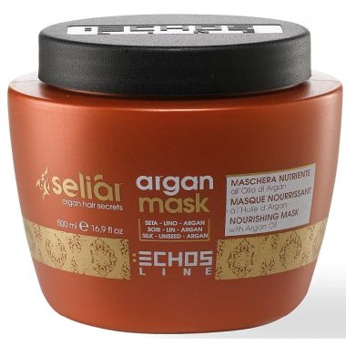 Изображение Маска на основе масла аргании (Echosline Seliar Nourishing Mask With Argan Oil) – 500 мл
