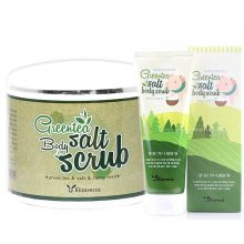 Скраб для тела с экстрактом зеленого чая (Elizavecca Milky Piggy Green Tea Salt Body Scrub)