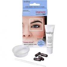 Краска-хна в капсулах для бровей Godefroy Eyebrow Tint Natural Black (чёрный)