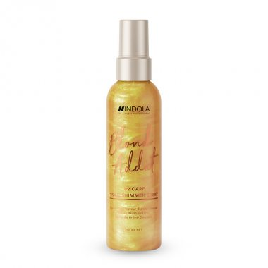 Изображение Спрей для придания золотого блеска (Indola Blond Addict Gold Shimmer Spray) – 150 мл