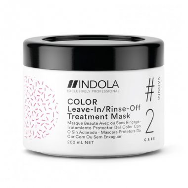Изображение Маска для окрашенных волос (Indola Color Leave In Rinse Off Treatment Mask) – 200 мл