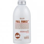 Восстанавливающий шампунь с маслом кокоса (Ollin Full Force Intensive Restoring Shampoo with Coconut Oil) – 300 мл