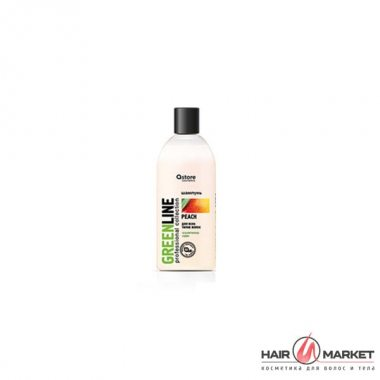 Изображение Шампунь с маслом персика (Astore Cosmetics Shampoo Oil Peach) – 300 мл