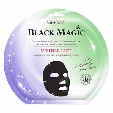 Изображение Подтягивающая маска для лица (Shary Black Magic Visible lift)
