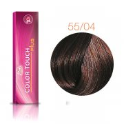 Каска Wella Color Touch Plus (55/04 бренди) – 60 мл
