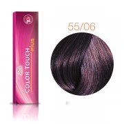 Каска Wella Color Touch Plus (55/06 пион) – 60 мл