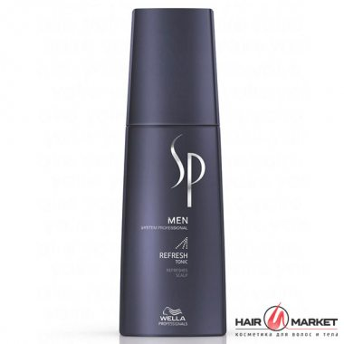 Изображение Освежающий тоник для волос (Wella SP Just Men Refresh Tonic)