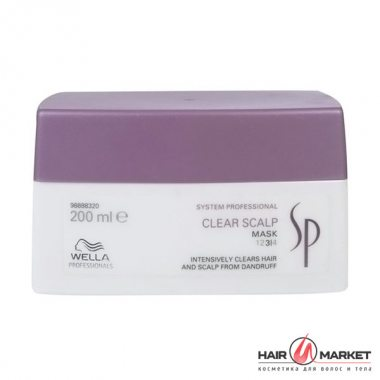 Изображение Маска против перхоти (Wella SP Clear Scalp Mask)