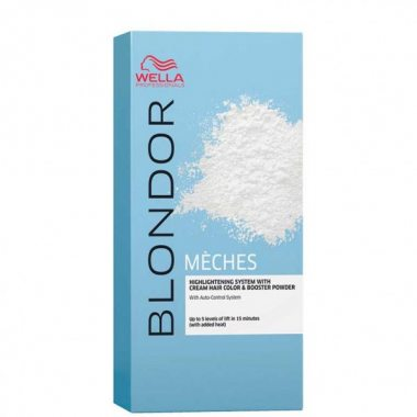 Изображение Набор для мелирования волос (Wella Blondor Blonde Meches)