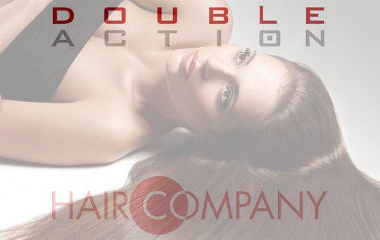 Ламинирование Hair Company Double Action рекламный баннер