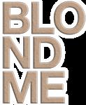 blondme логотип