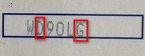 Как определить дату Dikson Structur Fort