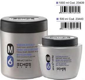 Антижёлтая маска для волос echos m6-anti-yellow-mask