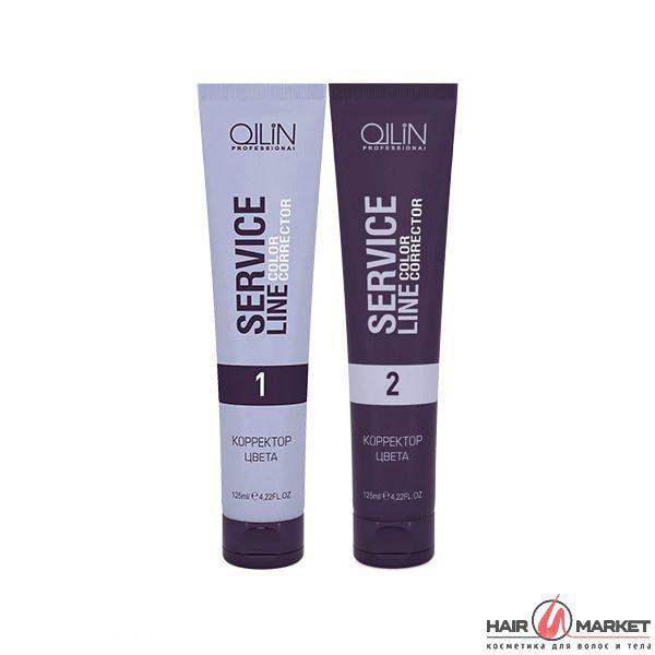 Смывка краски с волос   Корректор цвета волос Ollin Service Line