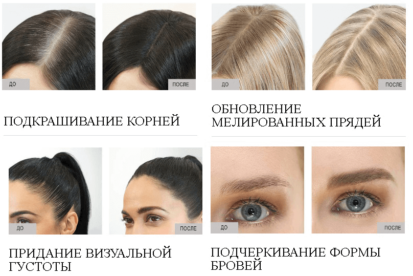 Назначение консилер для волос Wella Insta Recharge
